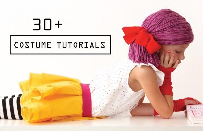 30+ Easy and fun costume tutorials on MADE Everyday with Dana Willard