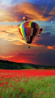 132 in 2020 Hőlégballon, Léghajó, Festmények