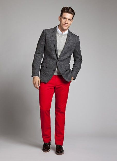 great holiday style from bonobos we want these pants to