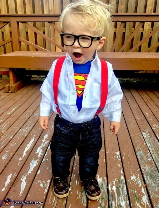 Clark Kent - Halloween Costume Contest at Costume-Works 2016 - 18 month halloween costume ideas