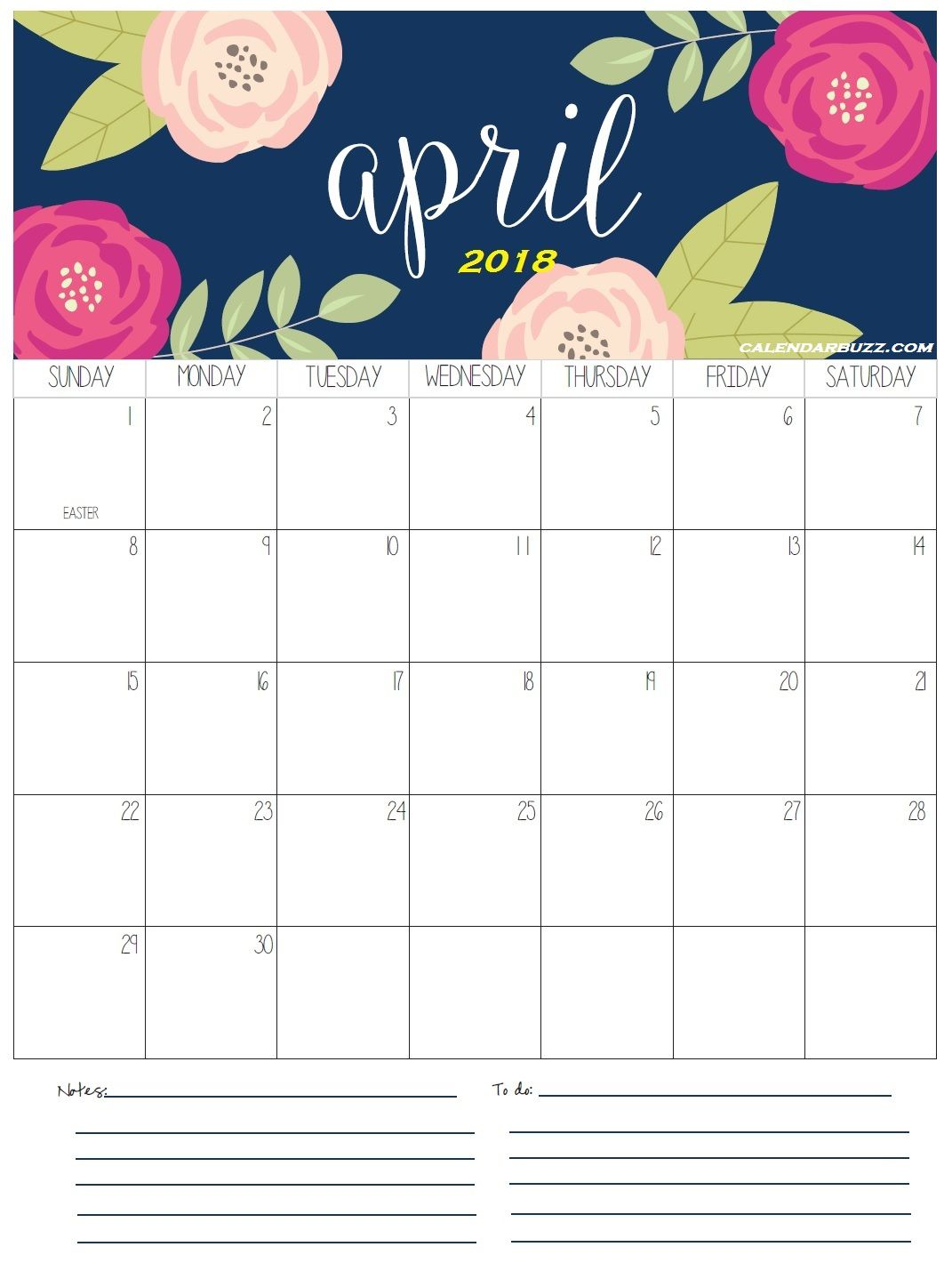 April Calendar Easter : April calendar easter free download aashe