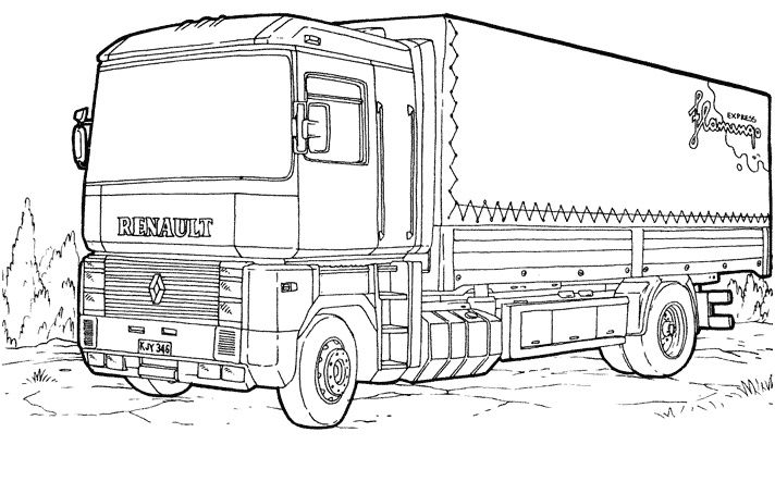 10 Decent Coloriage Camion Police Gallery Truck Coloring Pages Cars Coloring Pages Coloring Pages For Kids