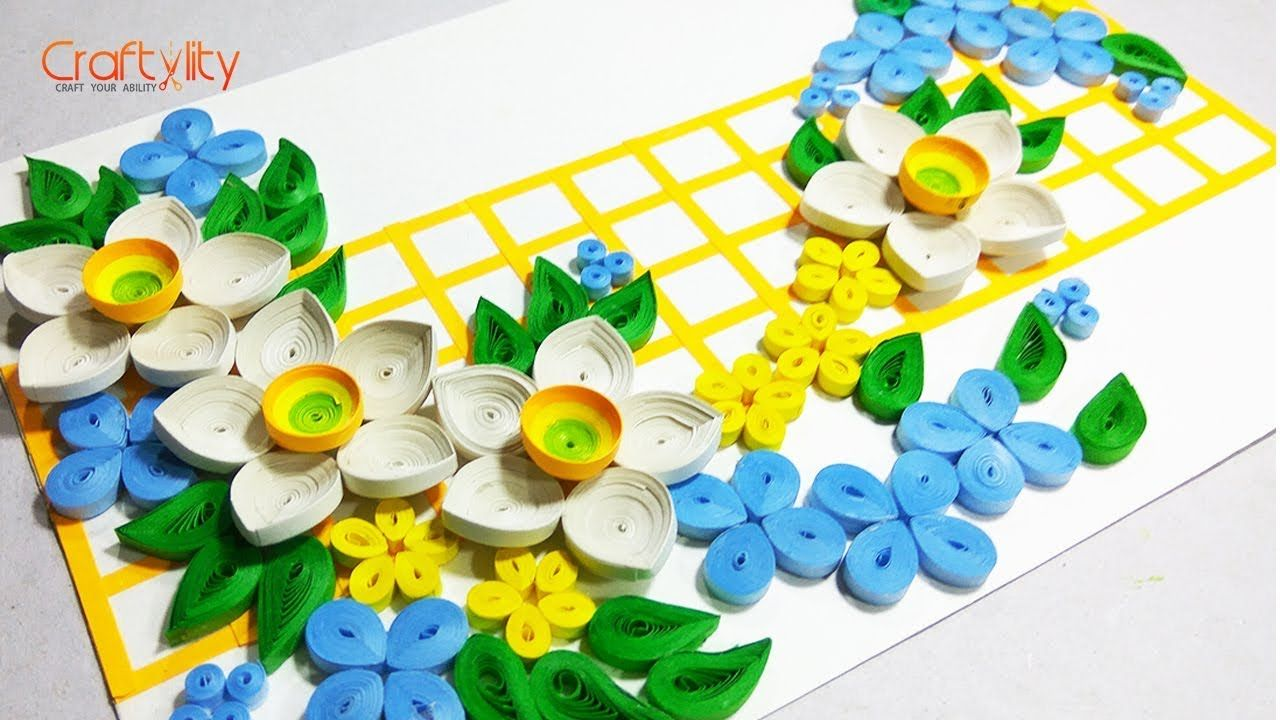 Paper Quilling Flower For beginners | Quilling Flowers | Quilling ...