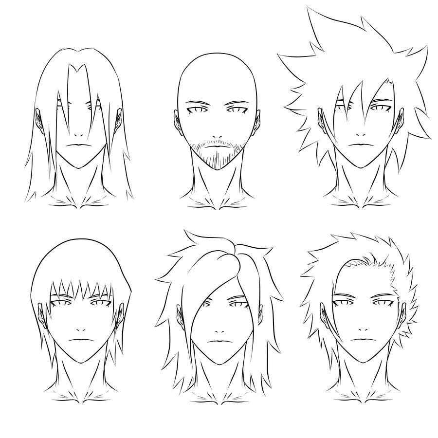Photo of Anime hair syles 2 by SKELLEBONES on DeviantArt