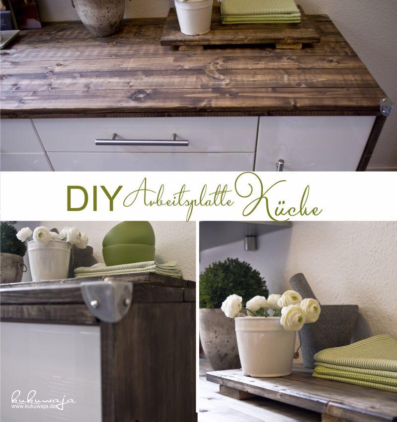 DIY Working Space Kitchen - DIY Arbeitsplatte   Korpus Küche
