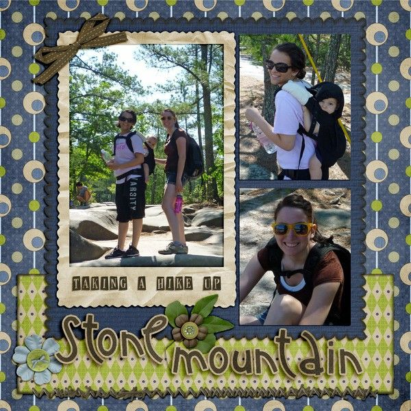 Hiking Stone Mountain - Two Peas in a Bucket