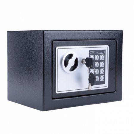 Homdox Digital Electronic Fire Safe Security Lock Box Wall Jewelry