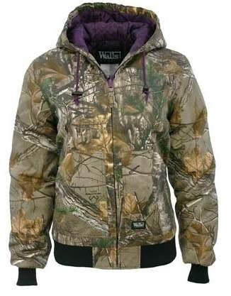 women s walls legend insulated hooded jacket camo on walls insulated coveralls for women id=63734