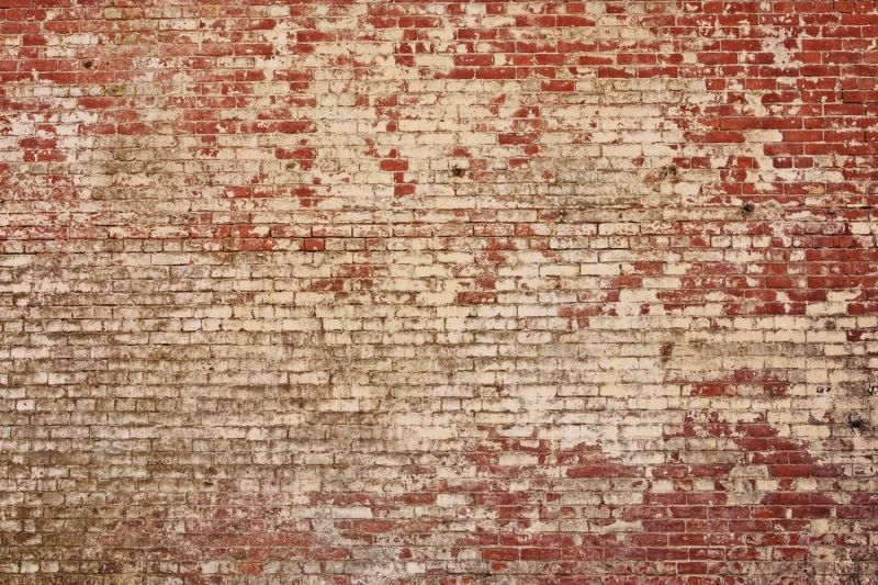 Red Brick Wallpaper Part - 30: Weathered Red Brick Wallpaper Wall Mural | MuralsWallpaper.co.uk