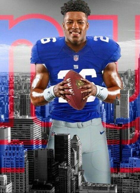 Saquan Barkley With Images Ny Giants Football New York Giants Football Giants Football