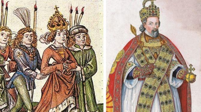 Barbora Celjská (na snímke vľavo), manželka Žigmunda Luxemburského, bola svojho času najväčšia boháčka v Uhorsku.