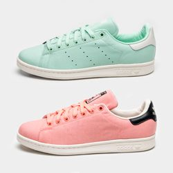 the best attitude 49960 ce76a The ADIDAS STAN SMITH SS16 COLOURWAYS include this clean duo ...