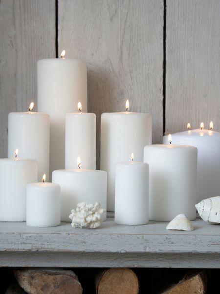 Stylish White Pillar Candles & Stylish White Pillar Candles   Stylish Compliments and Pure white azcodes.com