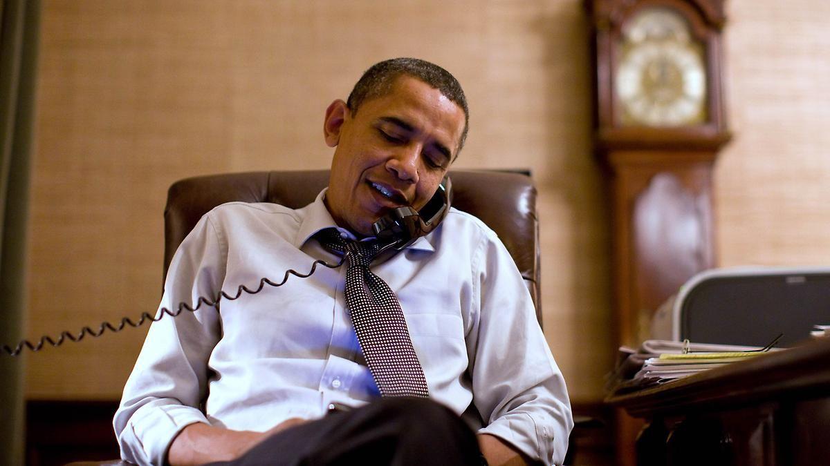 Nicht nur Arbeit im Privat-Büro: So verbringt Obama seine Abende