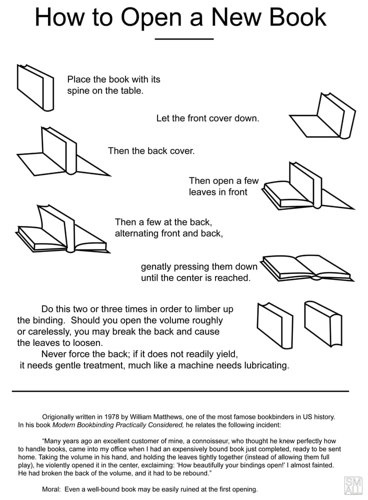 How To Open A New Book New Books Books Words