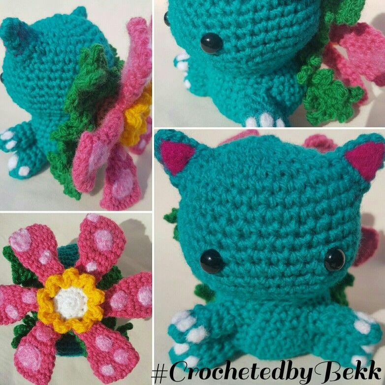 Crochet Venasaur Pokemon! Order your Pokepall today www