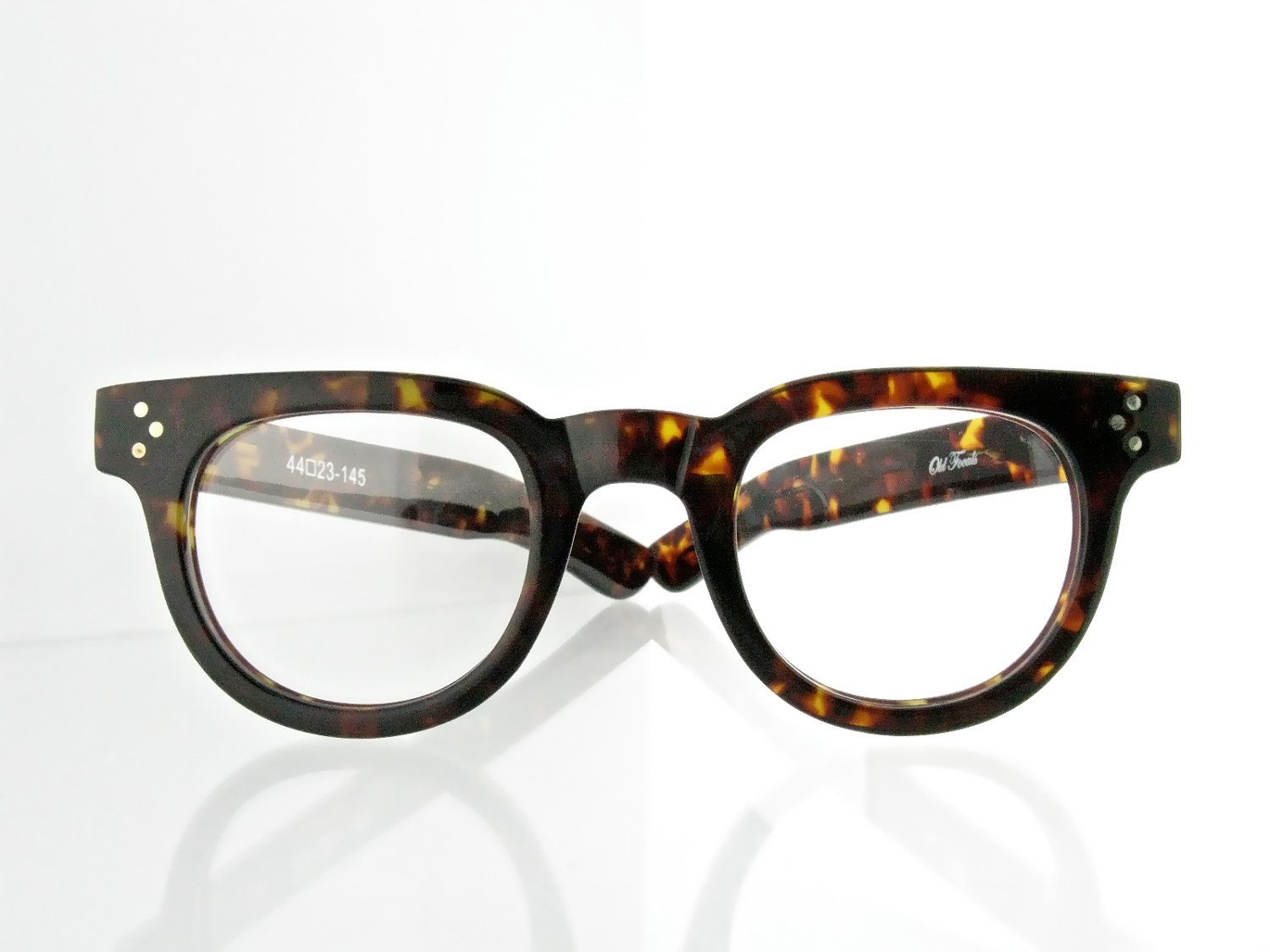 Old Focals brand FDRs tortoise shell eyeglasses 50\'s style - FREE ...