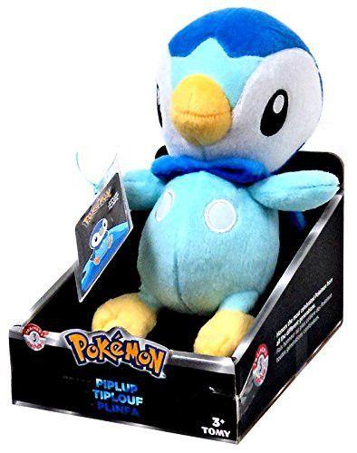 "Pokemon Trainer's Choice Piplup 8"" Plush"