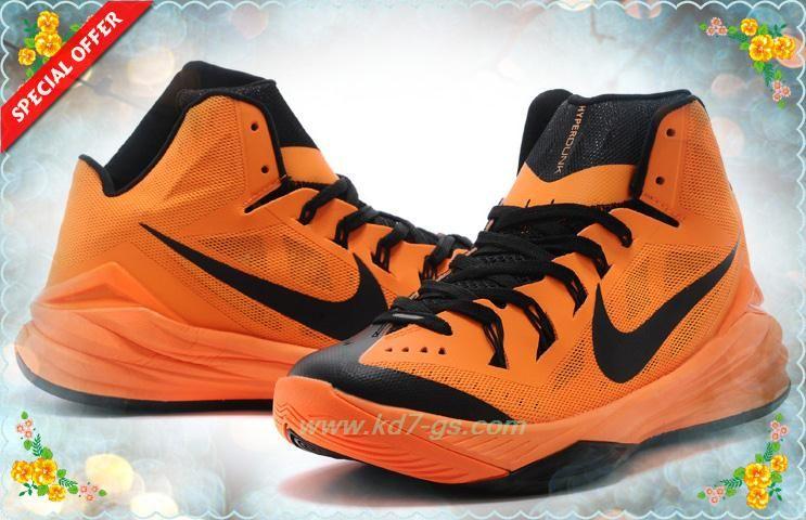 3ee0036e2bf0 Nike Hyperdunk 2014 Bright Mango Black 653640-800 Coupons Sale ...