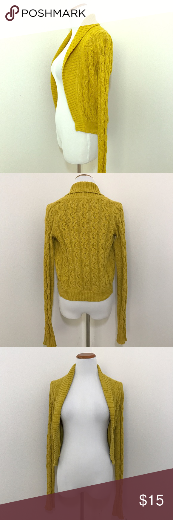 Anthropologien Sparrow Mustard Cardigan, XS | Sweater cardigan ...