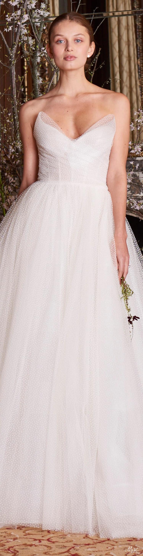 Spring 2019 Bridal Monique Lhuillier | Brautkleid | Pinterest ...