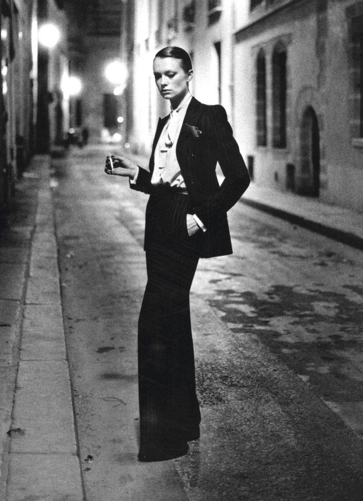 2032664d51d47 Yves Saint Laurent, the Women's Tux, and a Queer Love for the Ages ...