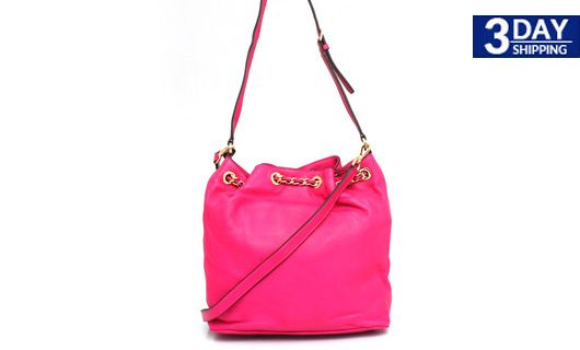 Get 68% #discount on Michael Kors Frankie Drawstring Leather