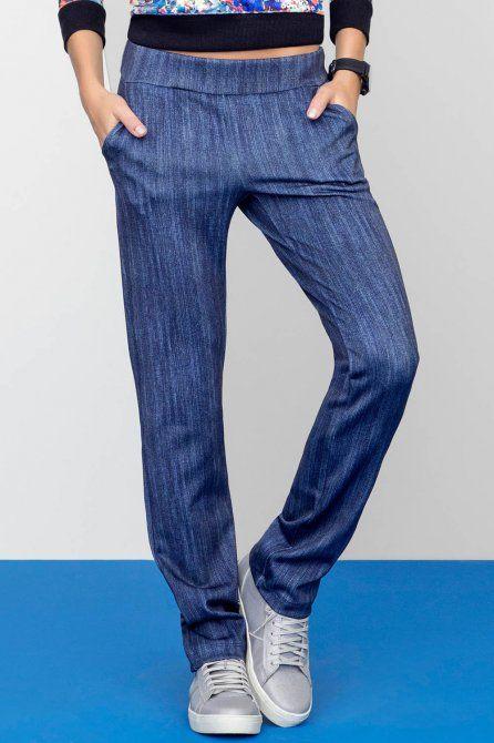 Calça Deluxe Denim você encontra na Live! Moda Esportiva para Mulheres. Compre  online e pague em até sem juros no cartão de crédito! 13665dac2bbc0