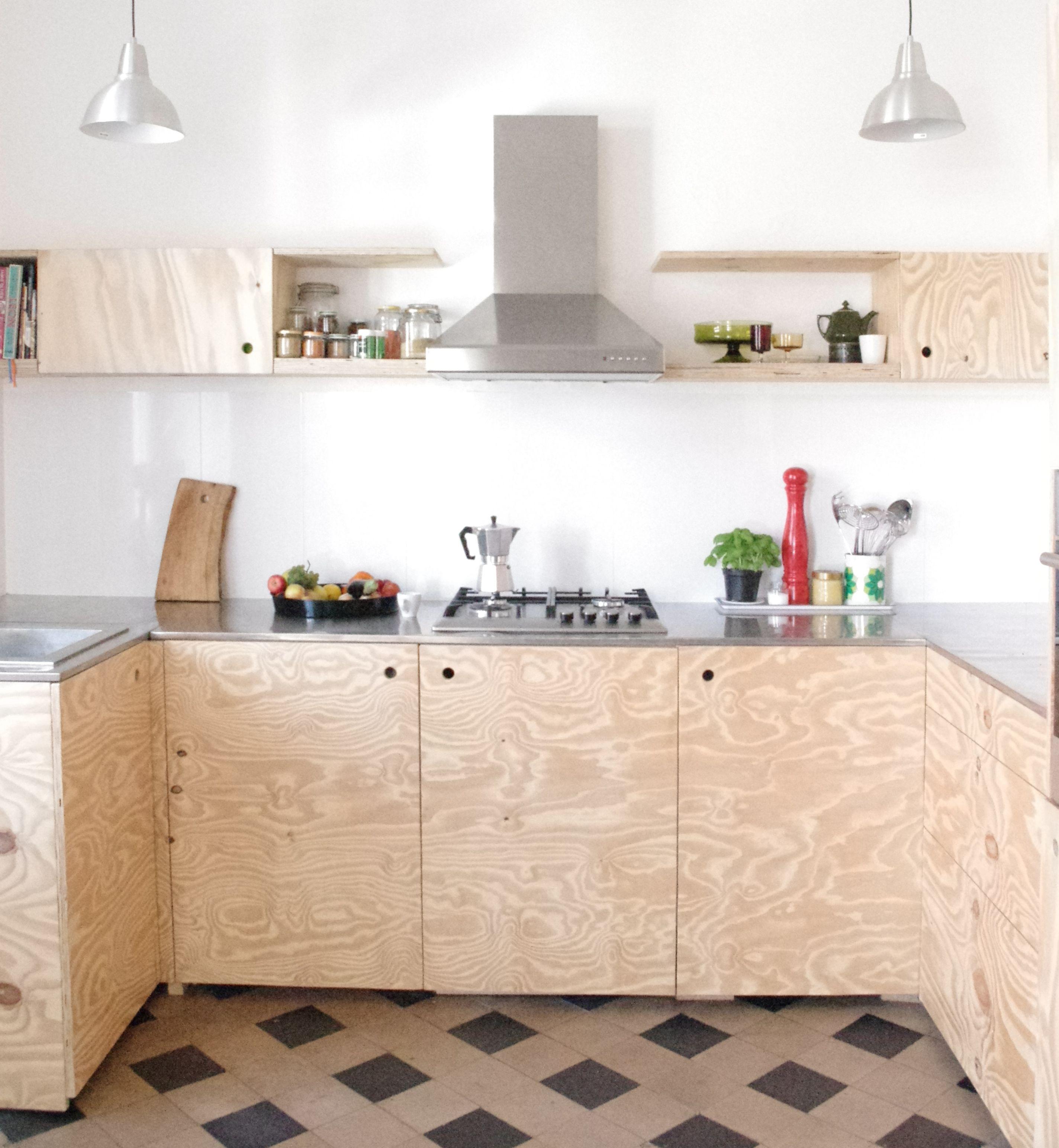 Wohnideen Fur Holzliebhaber Sperrholz Und Plywood Mit Bildern Kuche Selber Bauen Kuche Bauen Kuche Diy