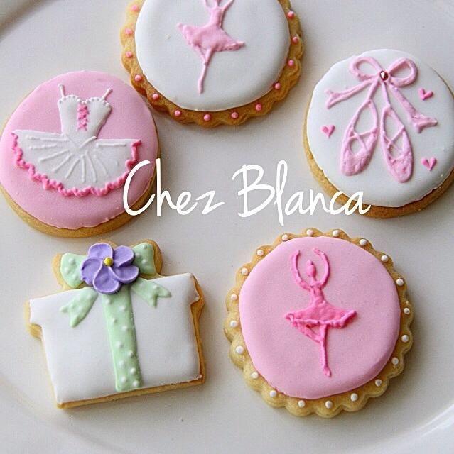 6歳になる小さなバレリーナへのプレゼントに。 - 51件のもぐもぐ - アイシングクッキー by Chez Blanca