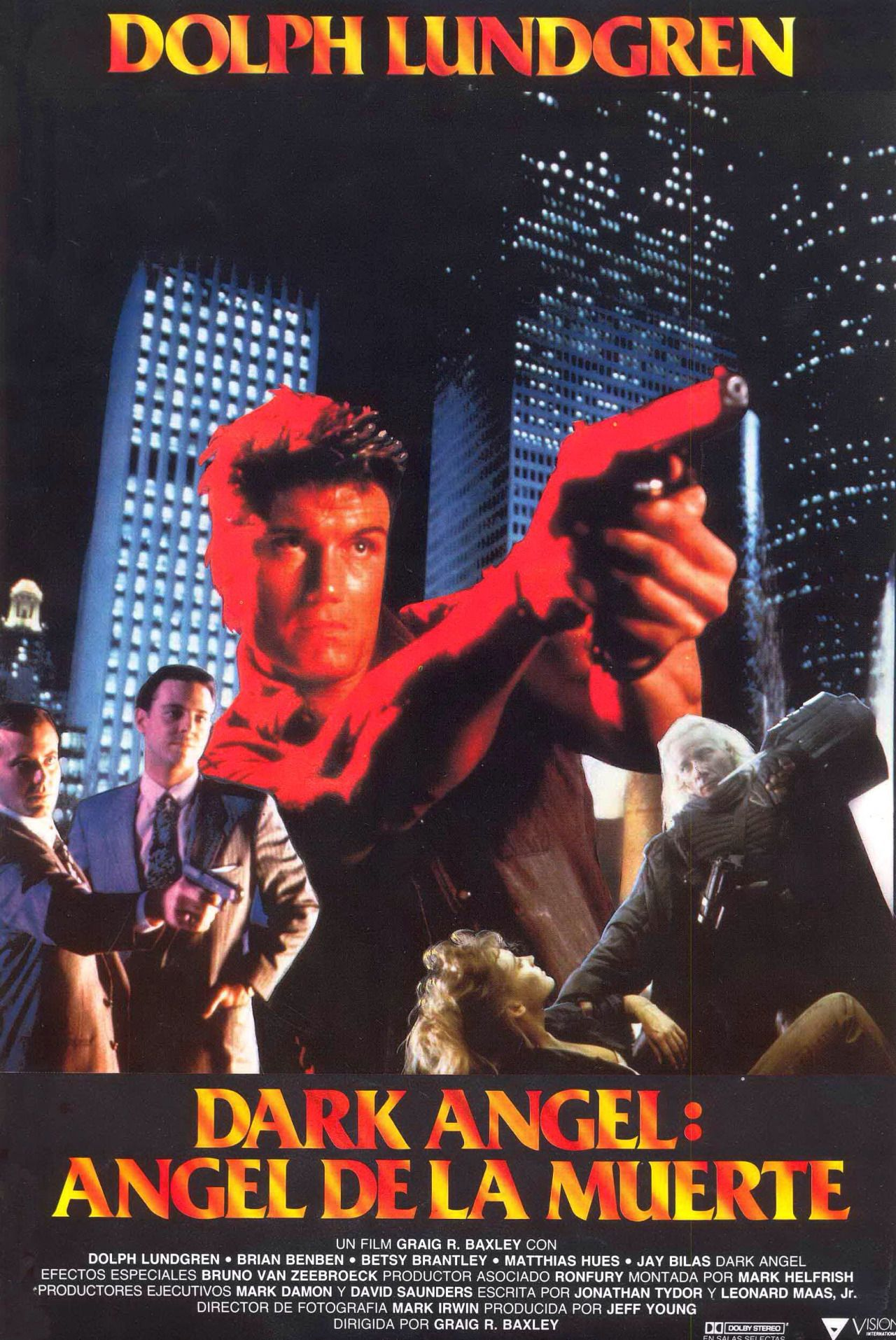 Theactioneer Action Movie Poster Dark Angel Streaming Movies Online