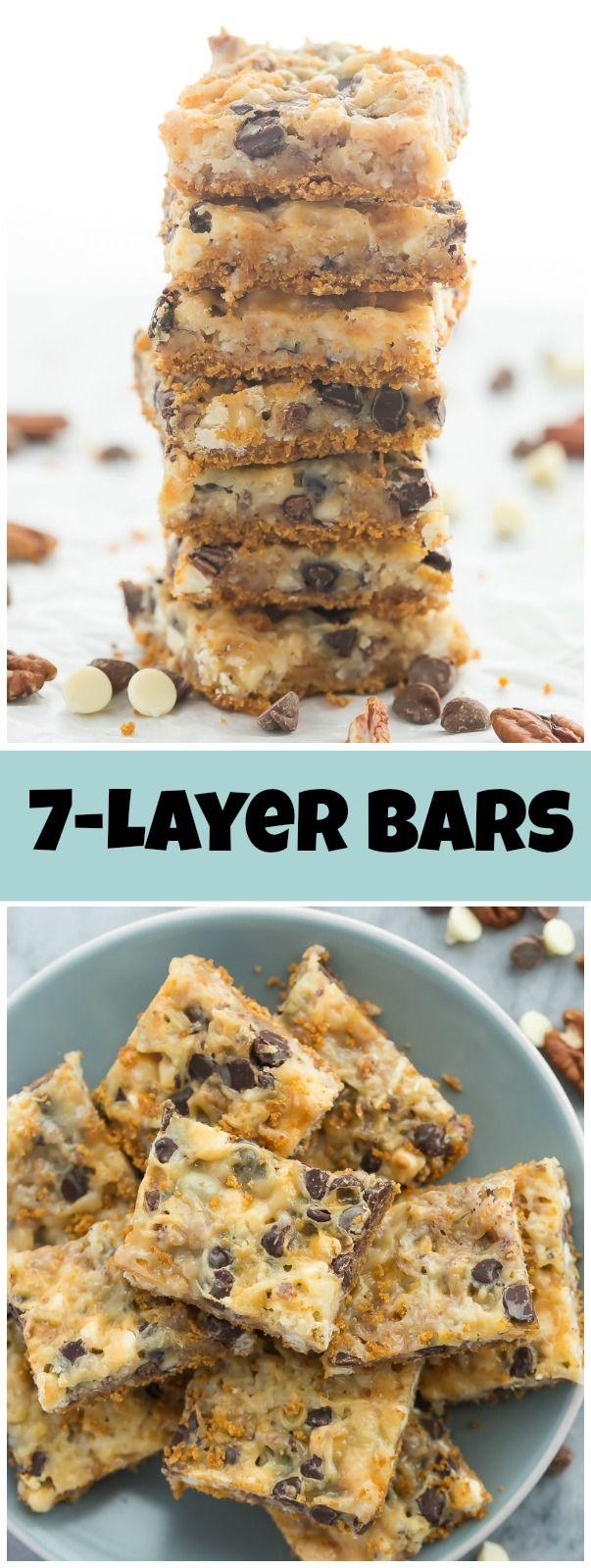 Seven Layer Bars Recipe Desserts Magic Bars Graham Cracker Recipes