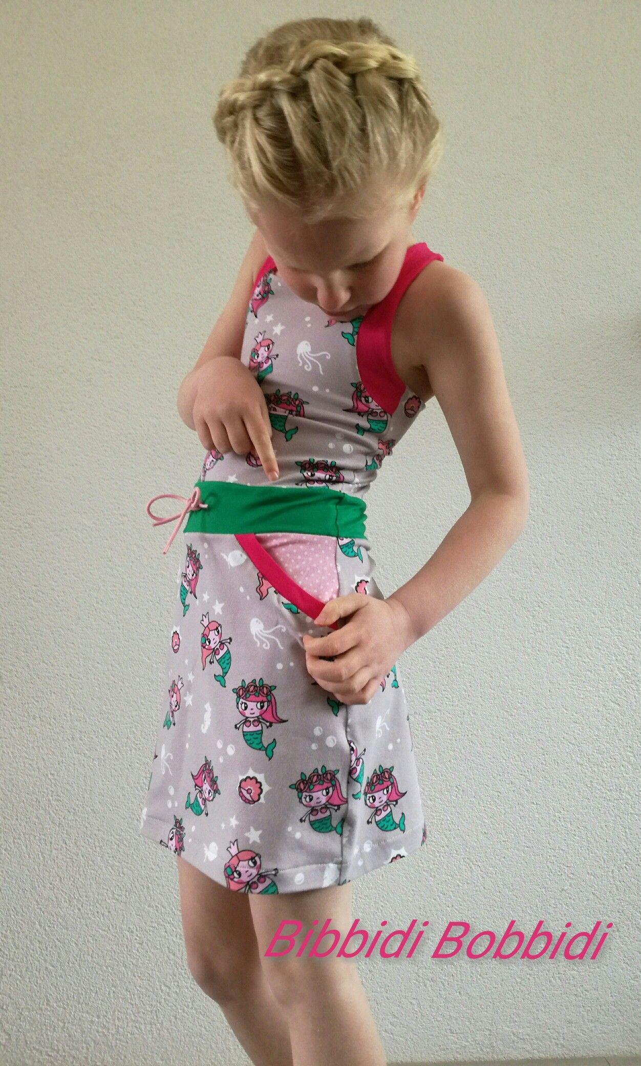 Mantica Dress from Sofilantjes. Made by Bibbidi Bobbidi