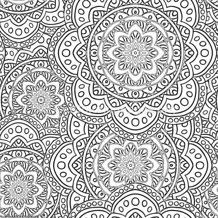 Free Instant Download Mandala Over Mandalas Coloring Pages ...