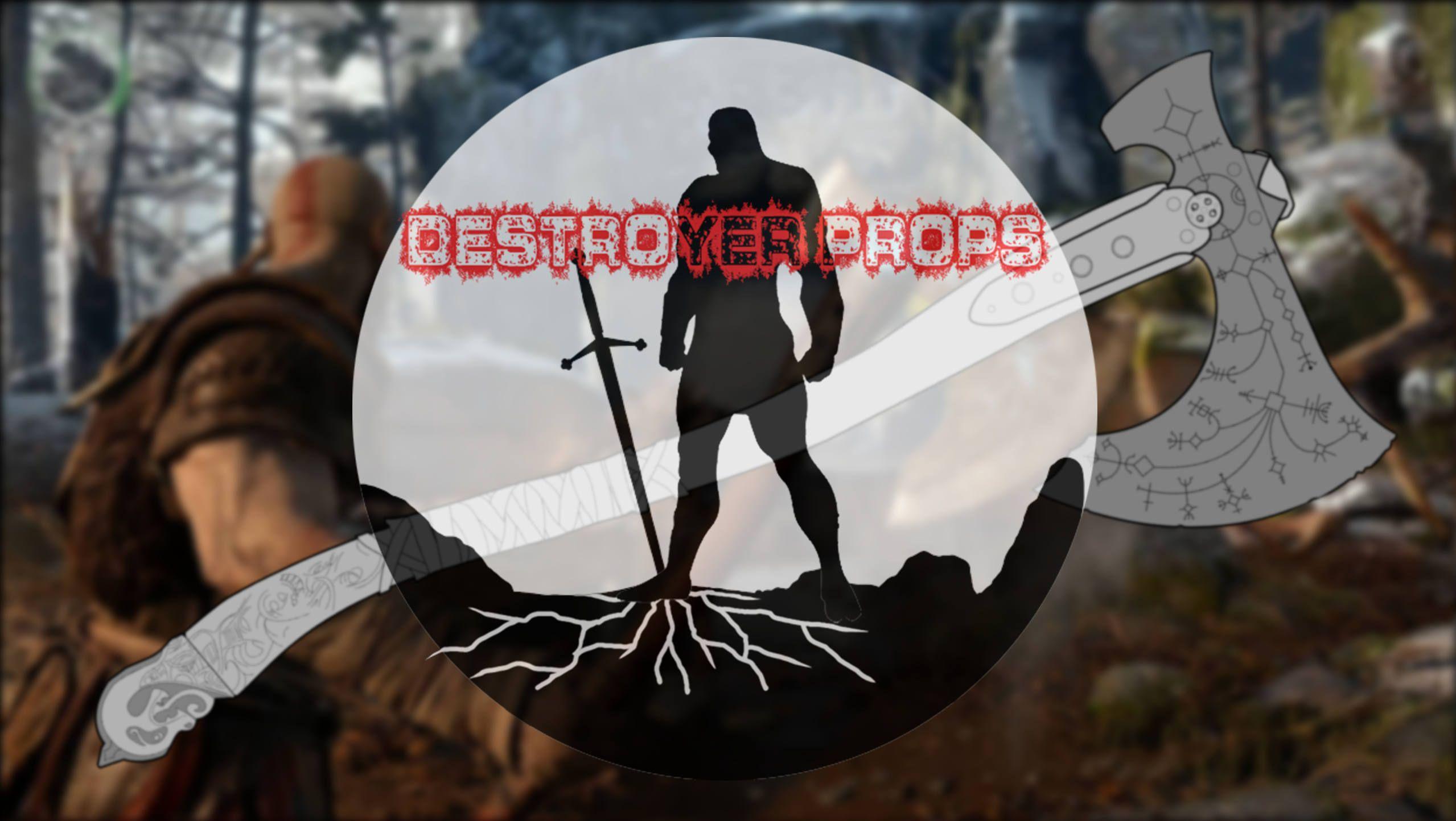 God of war 4 kratos leviathan axe digital blueprint 11 scale malvernweather Choice Image