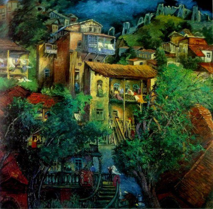 About Art Paintings by Elene Akhvlediani Рисунки