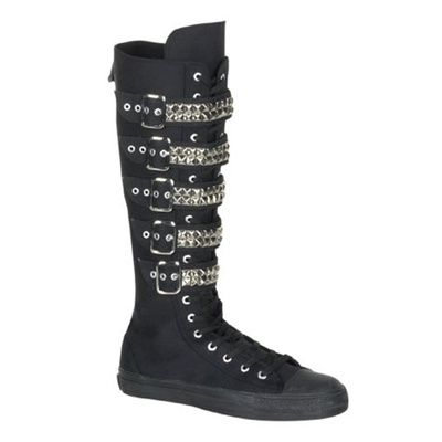 Demonia Shoes   Boots, Punk shoes