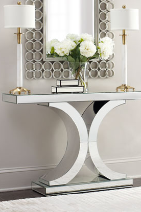 Mirrored At Neiman Marcus Decor Hall Decor Console Table Decorating