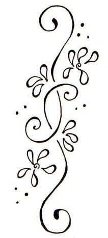 Floral Vine Tattoo Designs Google Search My Wishlist Henna
