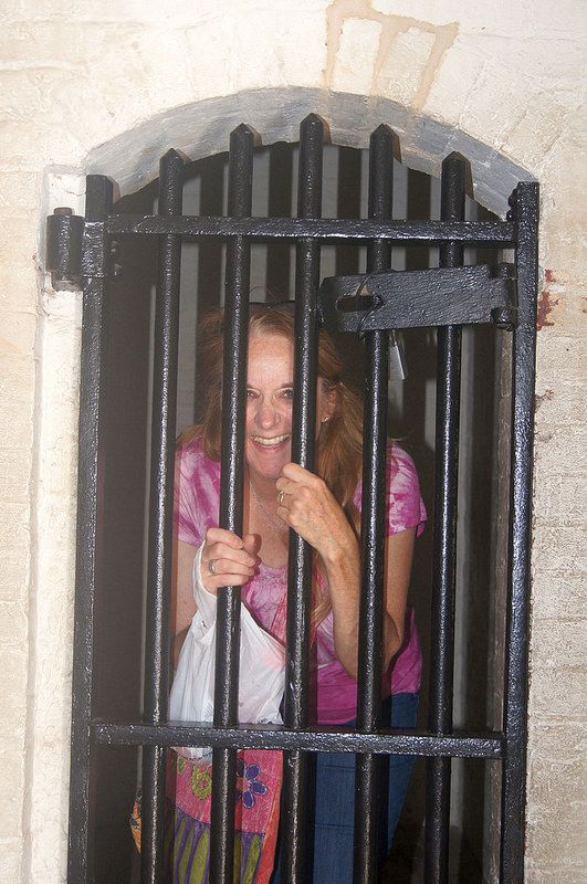 Patty in jail where she belongs