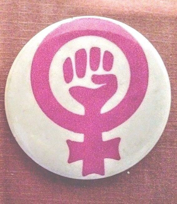 Female Equality Sign With Fist 1973 Womens Rights Womens