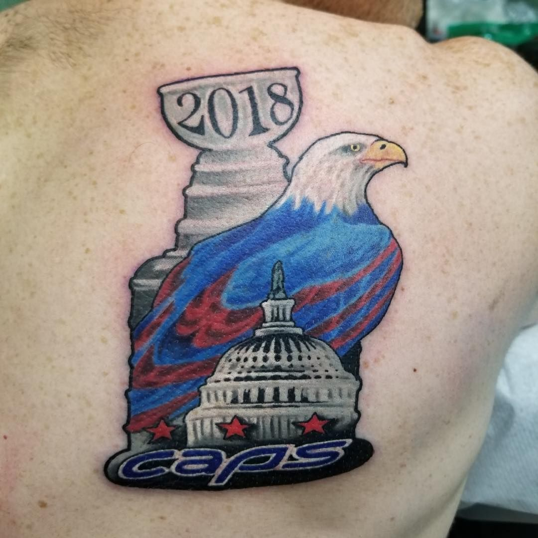 best website 1c90c 89026 chrislowetattoos did this awesome Stanley cup winning ...