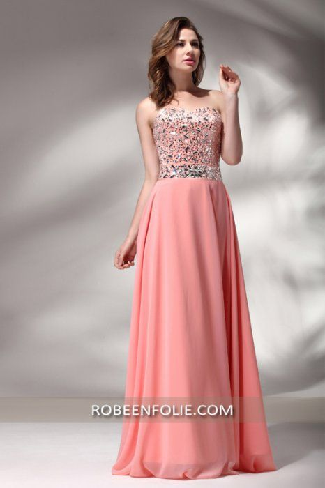 Belle robe longue pour un mariage