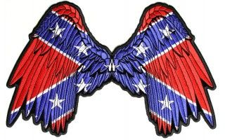 Rebel Wings Patch | Embroidered Patches