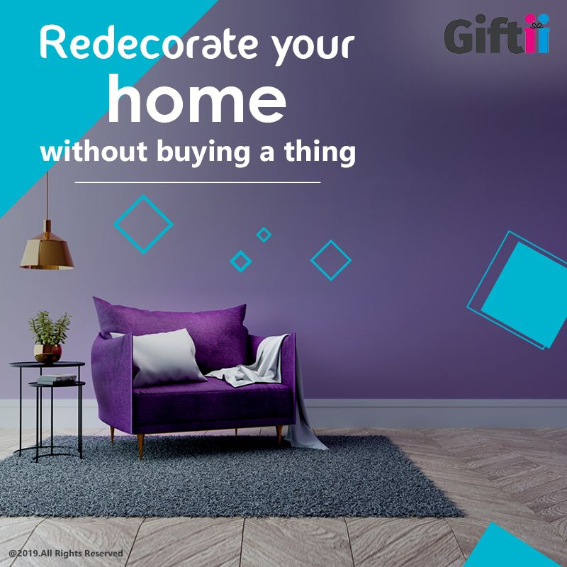 Here are some #homedecorationideas you can use if you are looking to decorate your home without buying anything from the market.   #giftii #homedecor #homedecoritems #besthomedecoritems #homedecorwithgiftii #homedecoration
