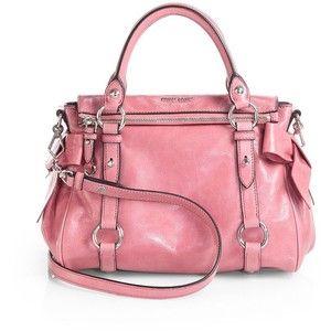 Miu Miu Vitello Lux Mini Bow Satchel | Mini bows. Miu miu handbags. Miu miu