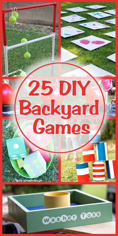 25 diy backyard games i might like this sight a little for Diy party games for adults