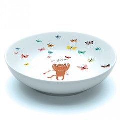 PomPapillon — Porzellan-Suppen-Teller Sweet cat von Djeco