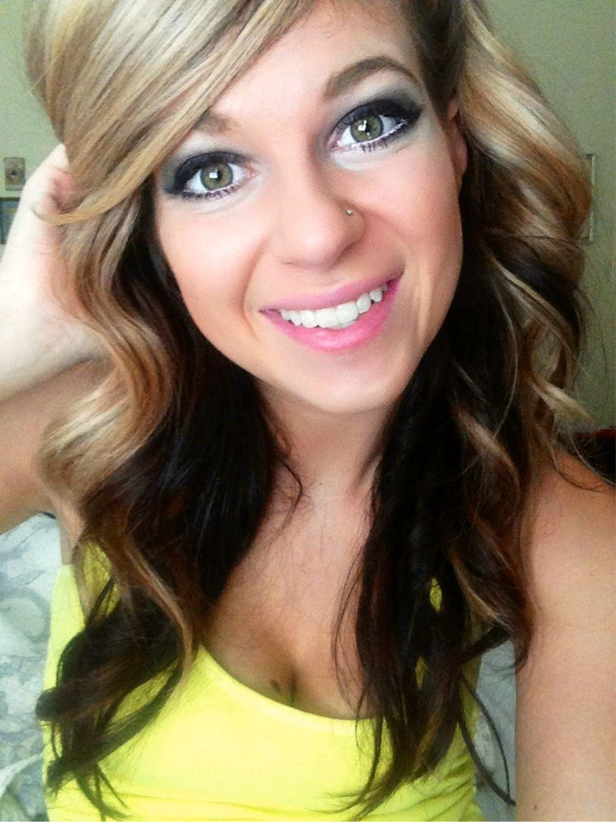 #makeup #pretty Pretty simple basic makeup #blonde #curls