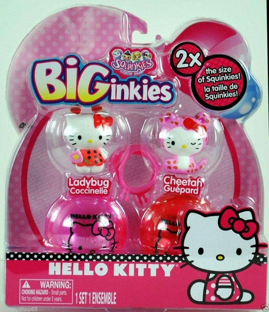 Squinkies Biginkies Hello Kitty Hello Kitty Toys Hello Kitty Kitty